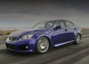 Lexus IS-F - седан с сердцем спорт-кара.