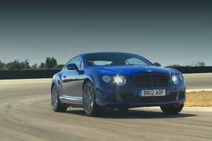 Bentley Continental GT Speed track film