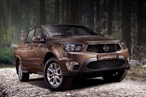 SsangYong обновил пикап Actyon