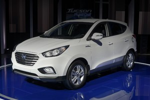 Hyundai начал продажи Tucson на топливных элементах