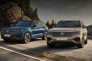 Фары IQ.Light в Volkswagen Touareg