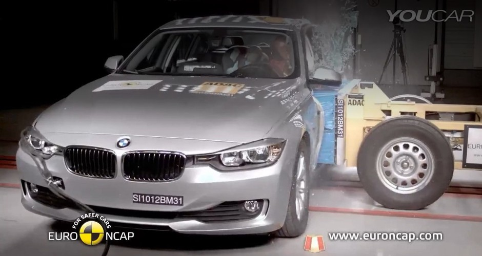 Crash test: BMW 3-Series 2012