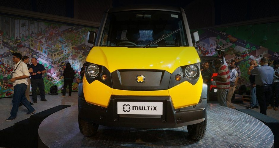 Пикап на базе квадроцикла Eicher Polaris Multix